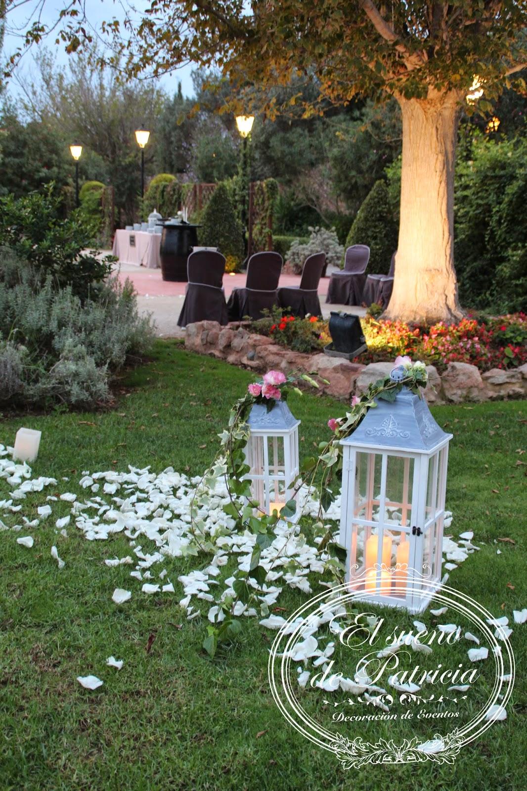 Una boda desde el coraz n - Decoraciones de jardin ...