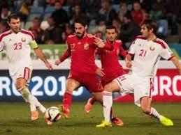 España vs Ucrania, Eliminatorias Eurocopa, Grupo C.