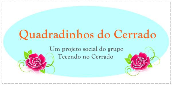 Quadradinhos do Cerrado- Um projeto social do grupo Tecendo no Cerrado