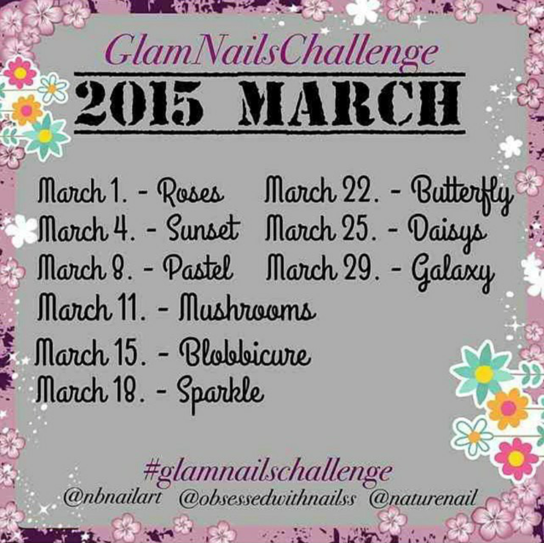 March Nail Art Challenge