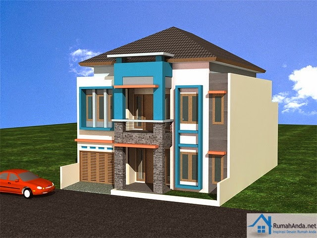 Gambar Model Rumah Minimalis Type 60 2 Lantai