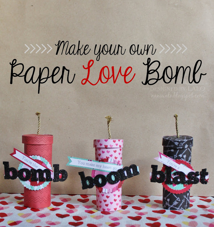 Paper Love Bombs