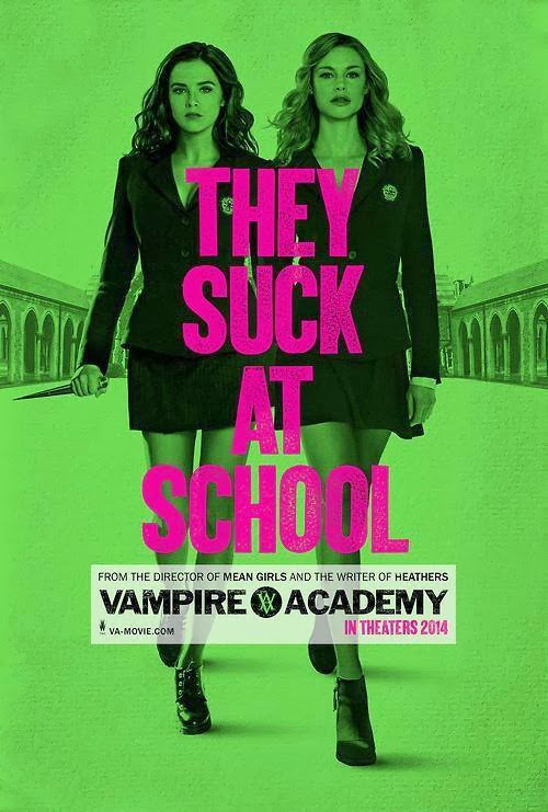 Poster oficial Vampire Academy:Blood Sisters