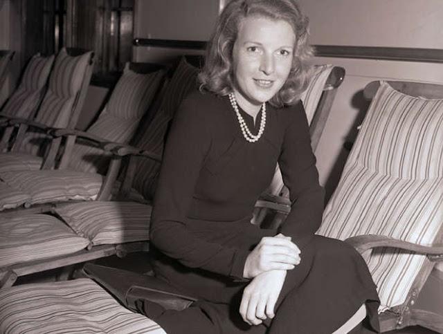 Марта Геллхорн возвращается из Европы, 1940 год
