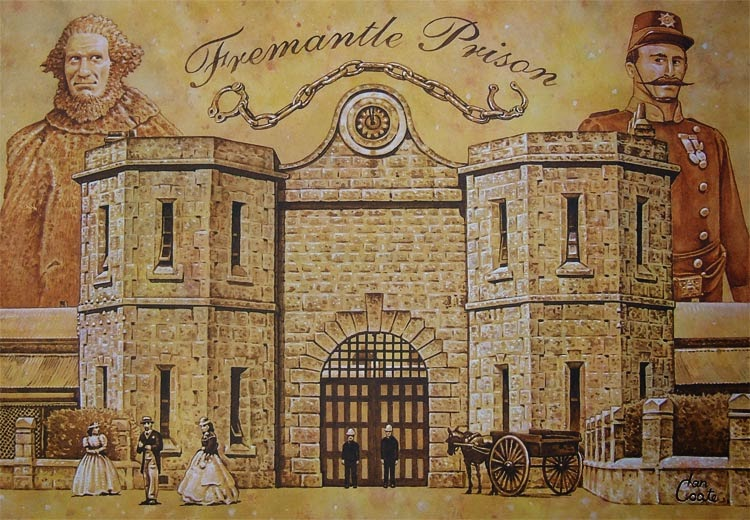 Fremantle prison and Moondyne Joe