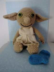 Knitting Pattern For Dobby The House Elf : Chiwaluv Amigurumi Critters: DOBBY by CHIWALUV