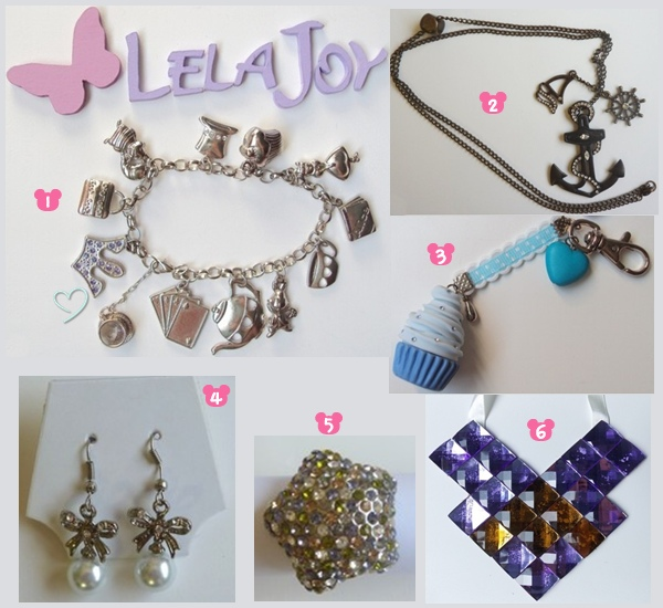 loja online Lela Joy bijuterias e acessórios, maxi colar, pulseira, chaveiro