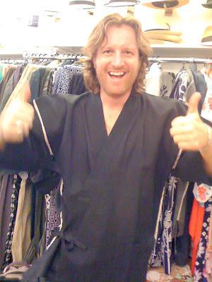 Mens Kimono Yukata from Kimono House NY 212-505-0232