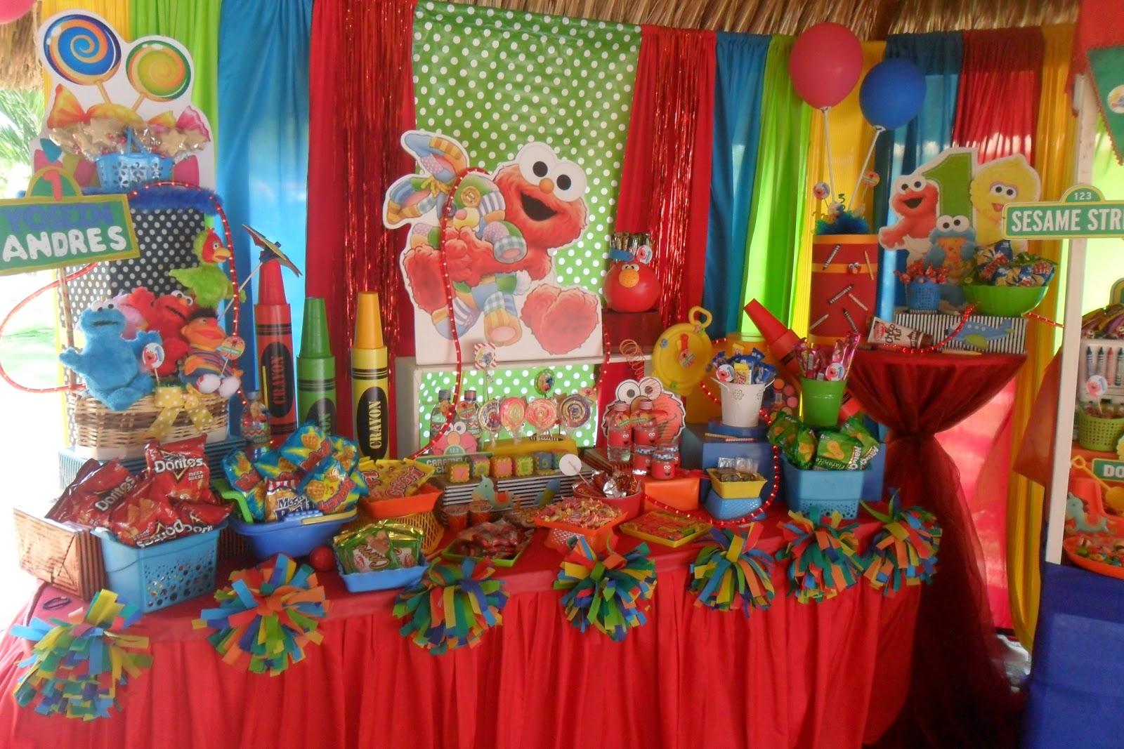 Ursula newman eventos decoraci n de fiesta plaza sesamo - Decoracion fiestas bebes ...