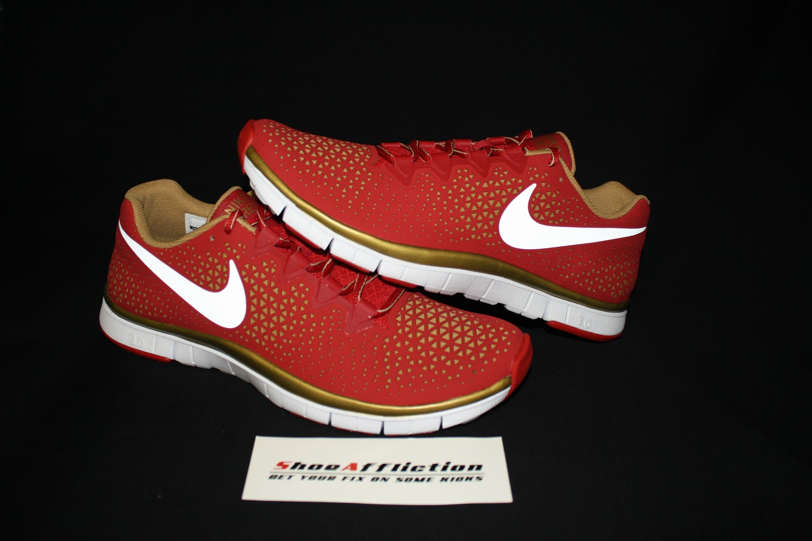 NIKE FREE HAVEN 3.0 X NFL DRAFT DAY SAN FRANCISCO 49ERS