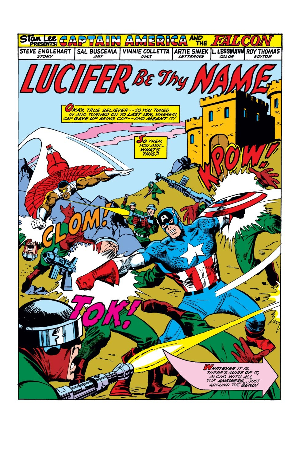Captain America (1968) Issue #177 #91 - English 2
