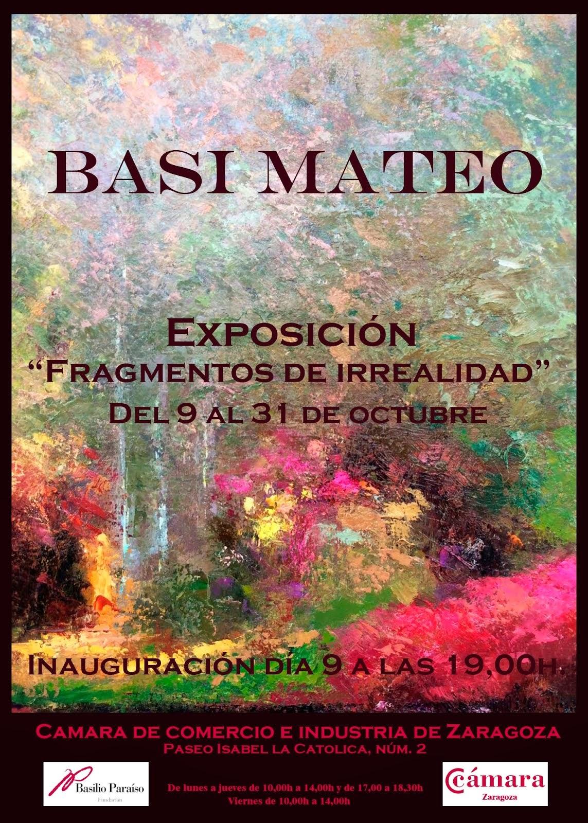 """Exposición """"Fragmentos de irrealidad"""""""