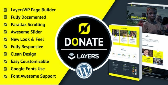 Donate - Nonprofit Wordpress LayersWP Theme