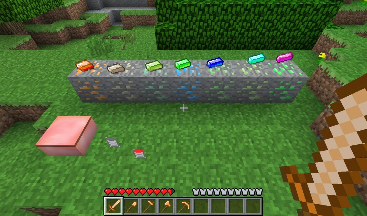 Minecraft da bir selam nasıl yapılır: adım adım talimat