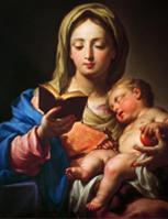 Madonna con bambino<br>di Francesco Trevisani