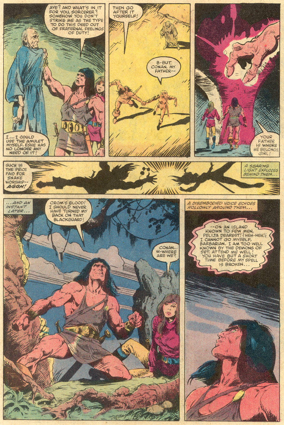Conan the Barbarian (1970) Issue #138 #150 - English 12