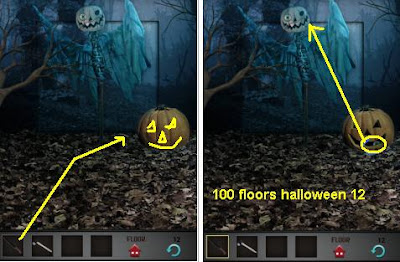 100 floors halloween level 11