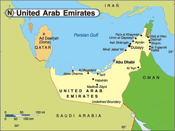 FANSS CASE STUDY 3 MIDDLE EAST – Geographical Map of Uae