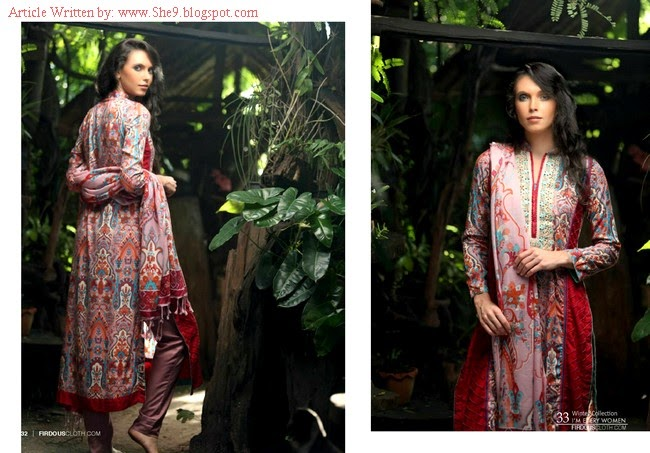 Firdous Winter-Fall Pashmina Suits
