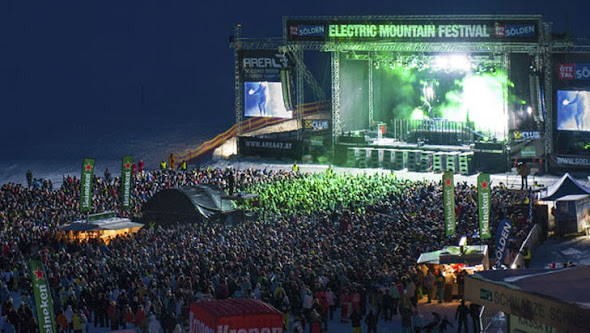 Eletric Mountain Festival - Sölden