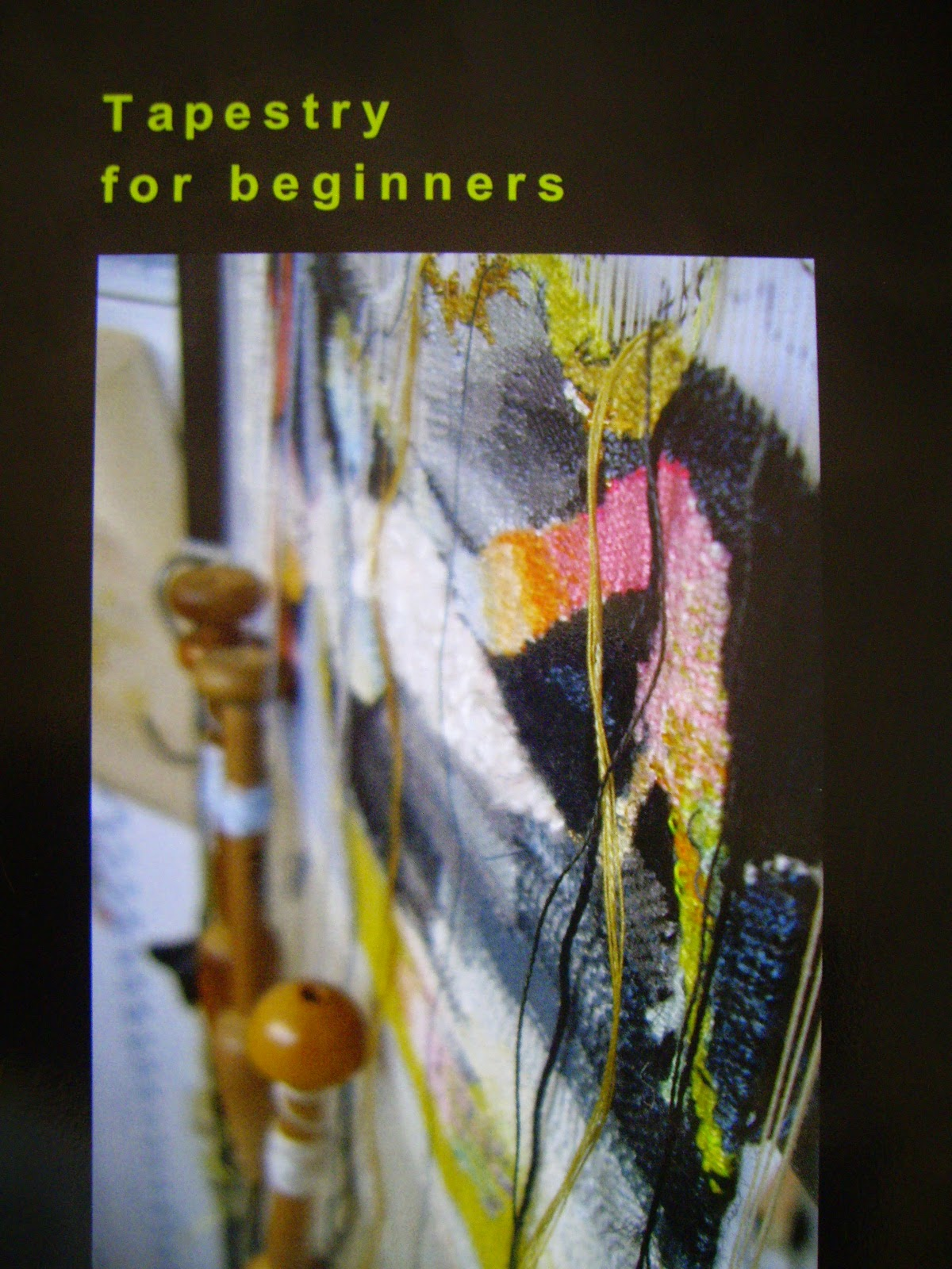 Tapestry for beginners, a tapestry primer