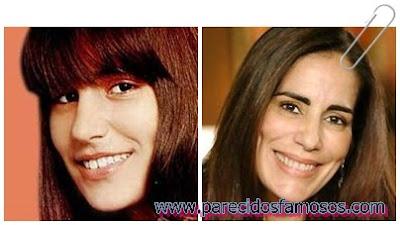 Brasileña Gloria Pires antes y después