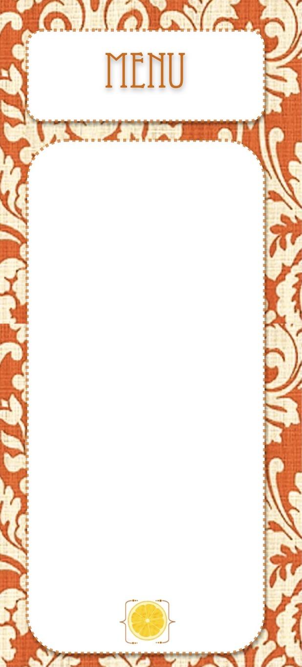 88 Blank Restaurant Menu Design Free Printable Blank Menu