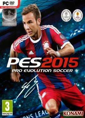 Pro Evolution Soccer ( PES ) 2015 Reloaded Full Crack