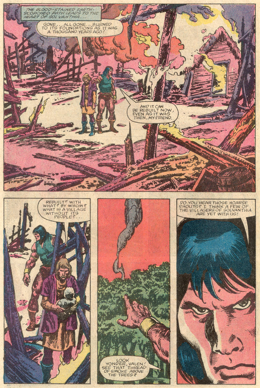 Conan the Barbarian (1970) Issue #144 #156 - English 19