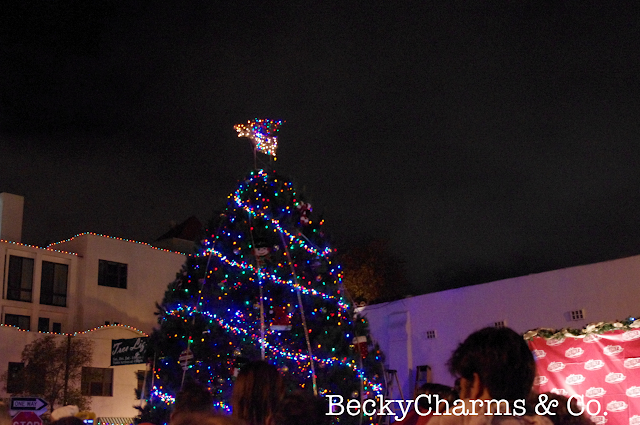 Little Italy Tree Lighting and Christmas Village 2012 by BeckyCharms, Christmas, Little Italy, San Diego, Holidays, events, local, community