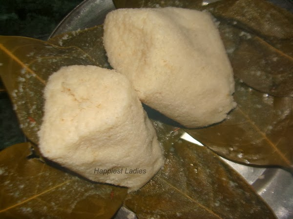 idli in jackfruit leaves