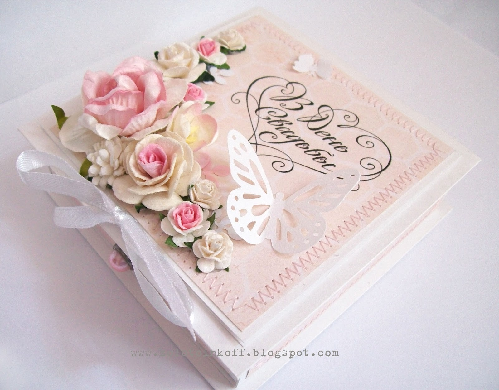 Коробка для открыток на свадьбу