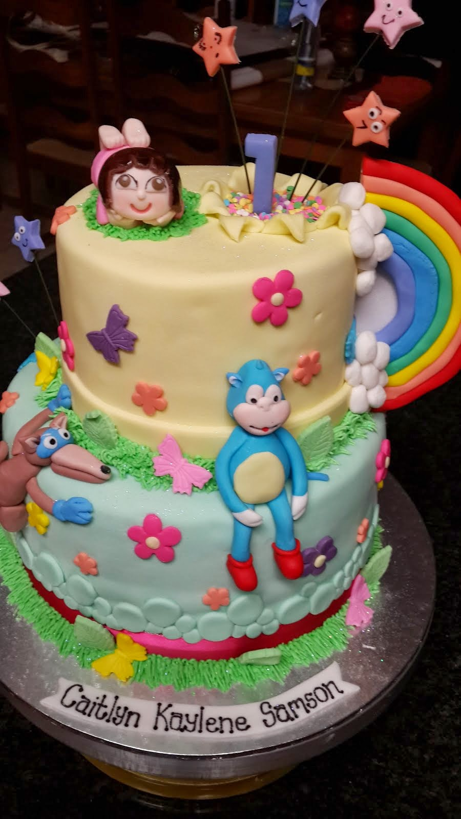 Dora the Explorer Cake for Caitlan