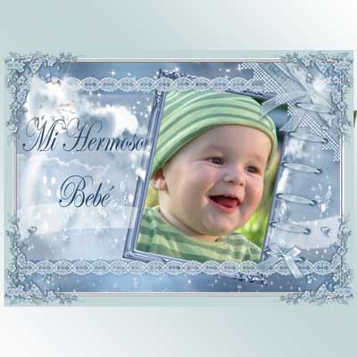 marco de fotos bebé