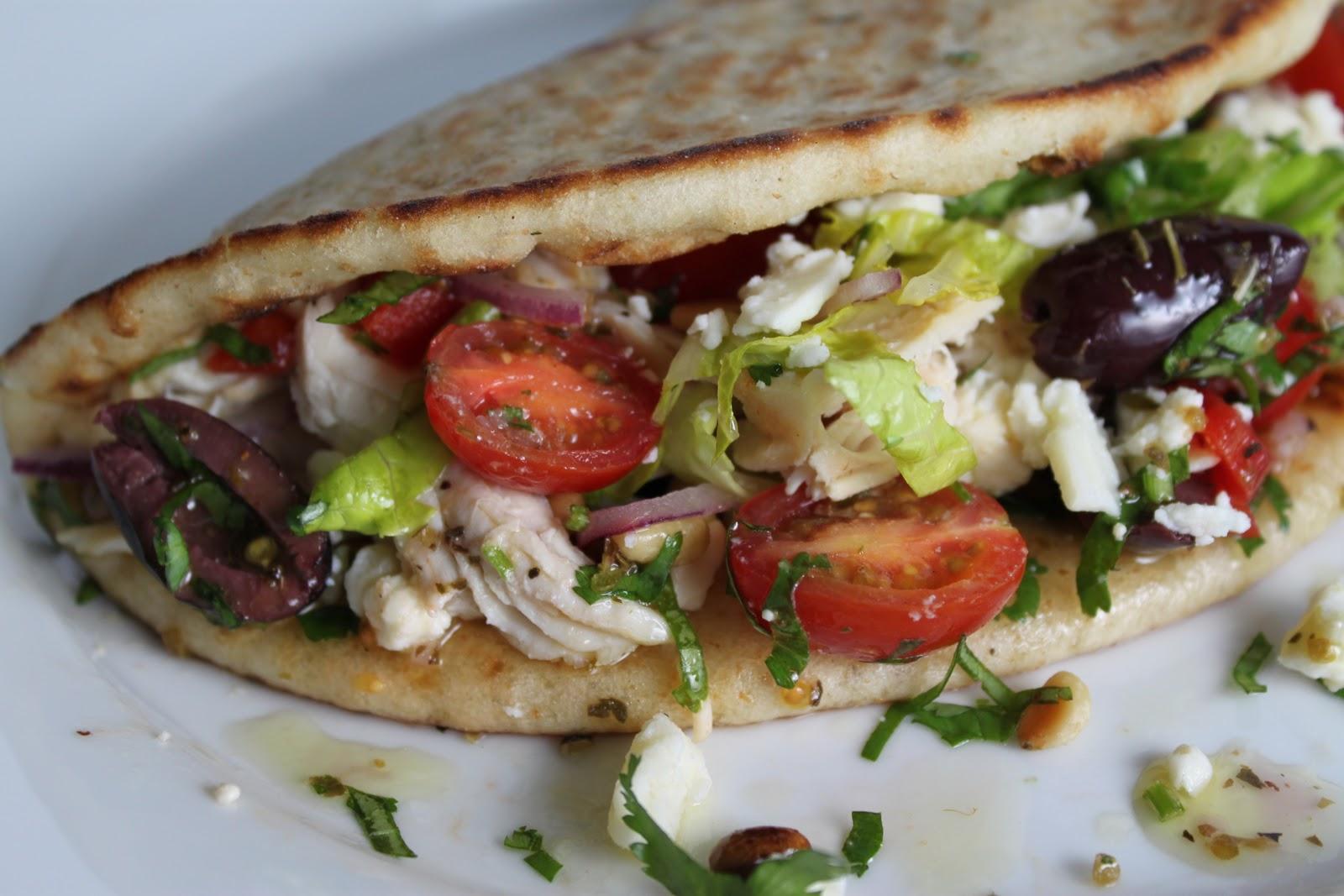 Watch Mediterranean Chicken Pitas video