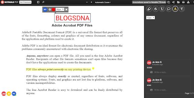 طريقة التعديل على ملفات pdf بدون برامج على الكروم