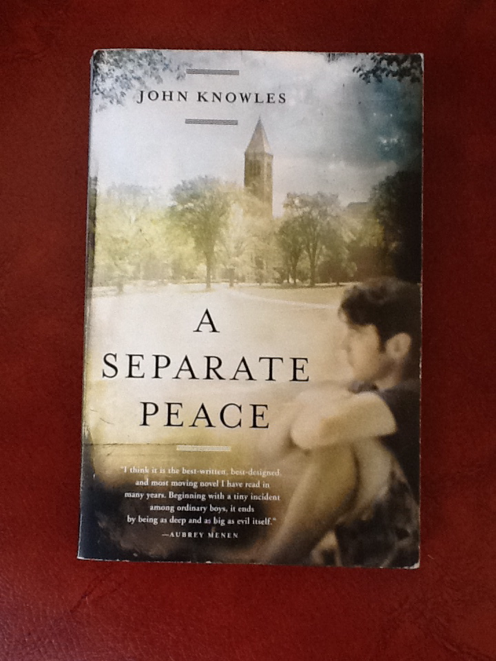 a separate peace catcher in the It would be inconceivable for an american author to write a coming-of-age novel in a comedic vein without reckoning with jd salinger's a catcher in the rye and it would be equally impossible to explore the genre in a tragic vein without taking account of john knowles's a separate peace.