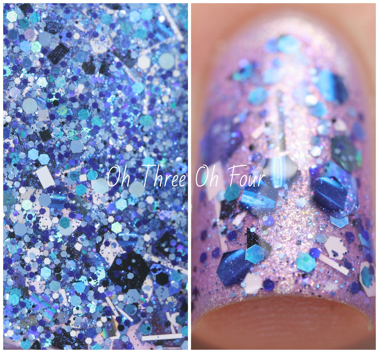 Lynnderella Getting to Know Blue swatch