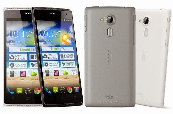 Spesifikasi Acer Liquid Z5