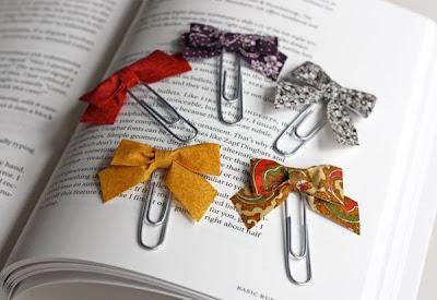Diy ribbon paperclips