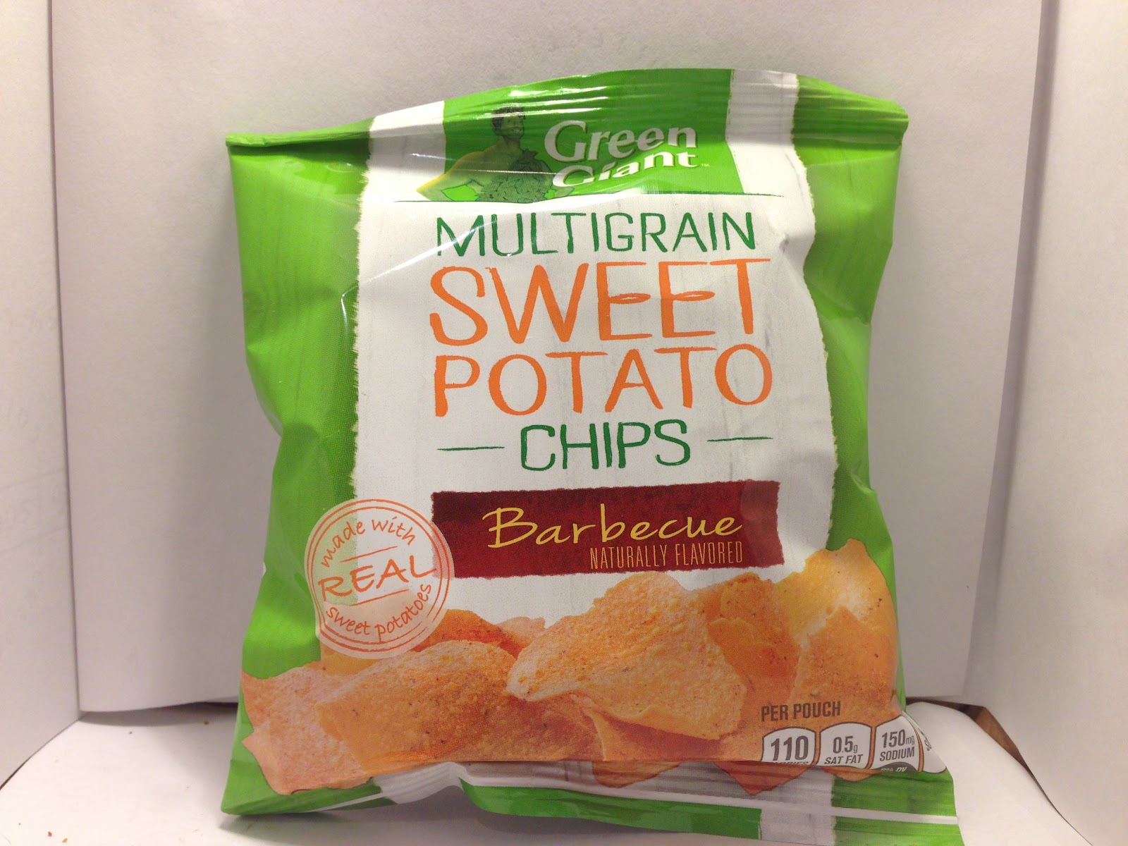 ... Food Dude: Review: Green Giant Multigrain Barbecue Sweet Potato Chips