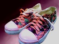 Sepatu Lukis joe 204 Cowok Rp 125 000,sepatu lukis ornamen,batik