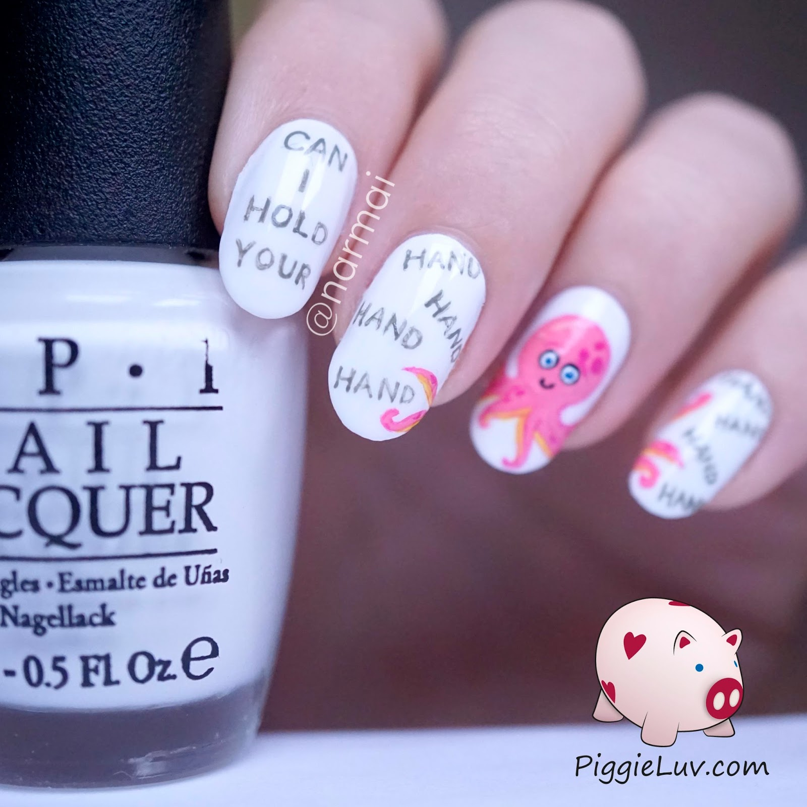 Piggieluv valentines day nail art can i hold your hand hand valentines day nail art can i hold your hand hand hand hand prinsesfo Image collections