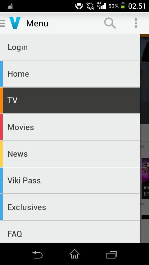 Download Aplikasi Android Untuk Nonton TV, Film, Drama Korea, Anime Jepang