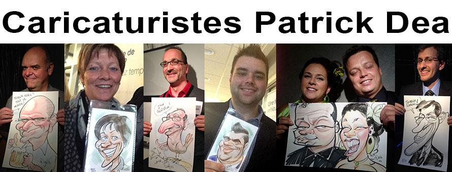 Caricaturistes Patrick Dea