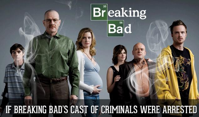 Image: If Breaking Bad's Cast Of Criminals Were Arrested