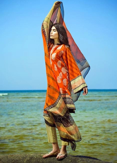 Latest sana safinaz collection 2015