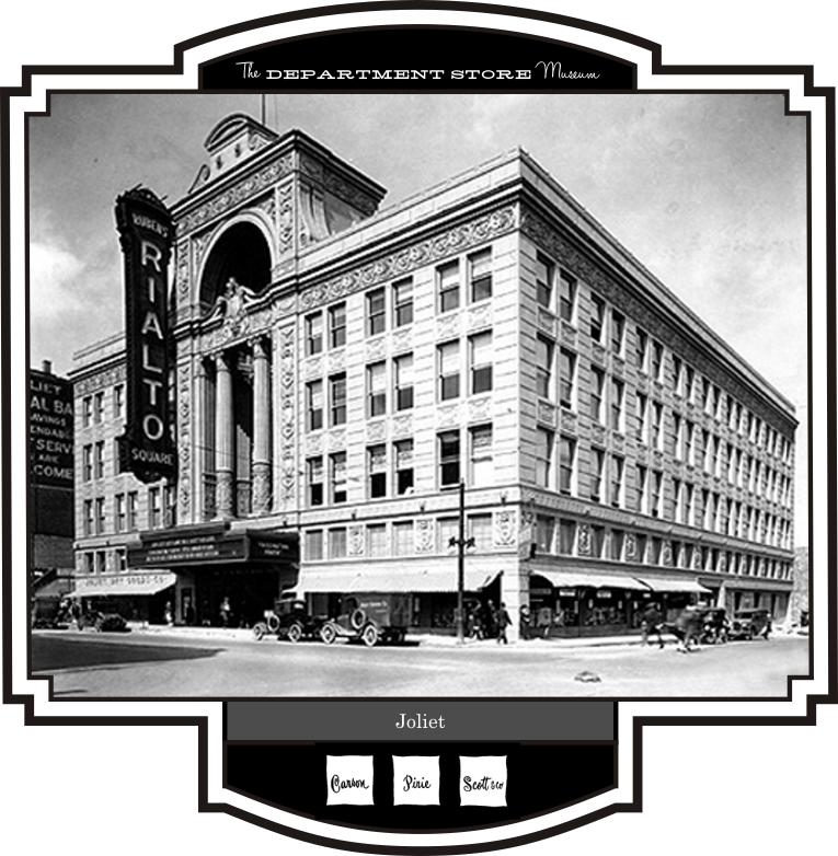 The Department Store Museum Carson Pirie Scott Co Peoria Illinois