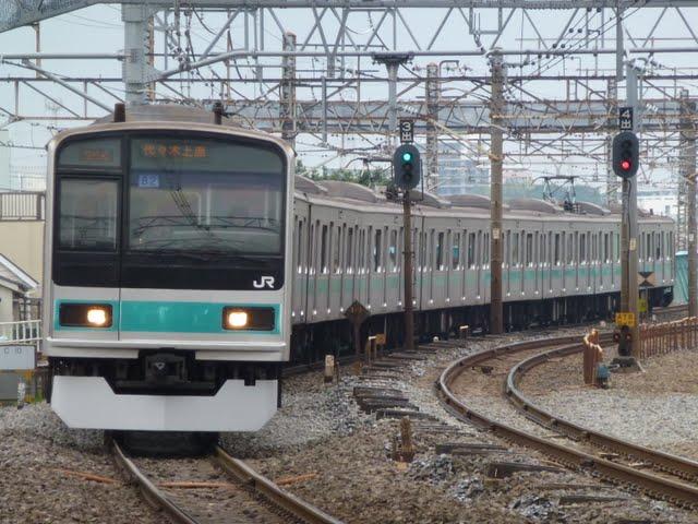 東京メトロ千代田線 代々木上原行き6 JR東日本209系1000番台