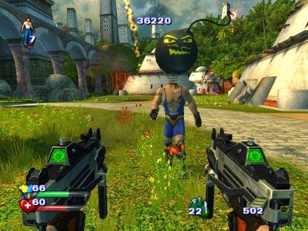 شرح تحميل وتتبيث لعبة Serious Sam 2 مضغوطة بحجم 540MB